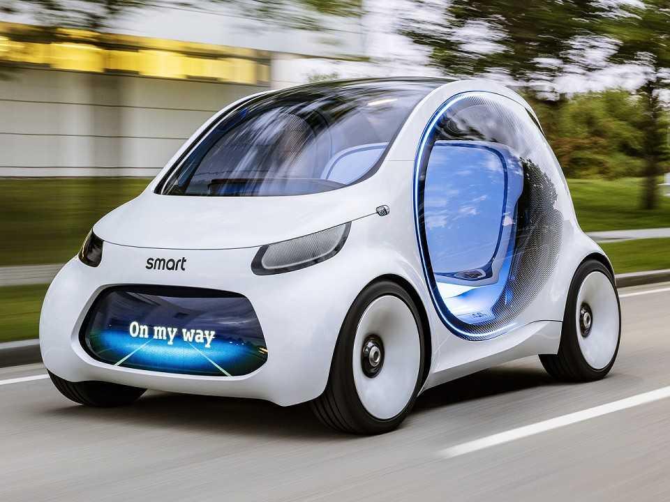 Conceito elétrico da Smart: futuros carros da marca serão produzidos pela Geely na China