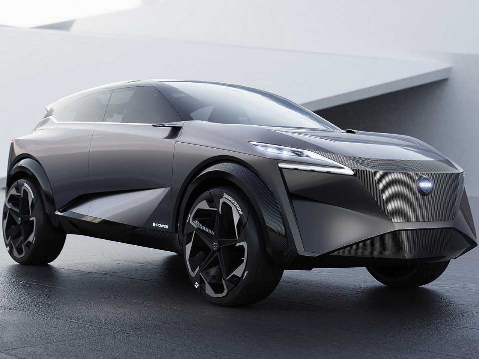 Acima o conceito IMQ revelado pela Nissan em Genebra