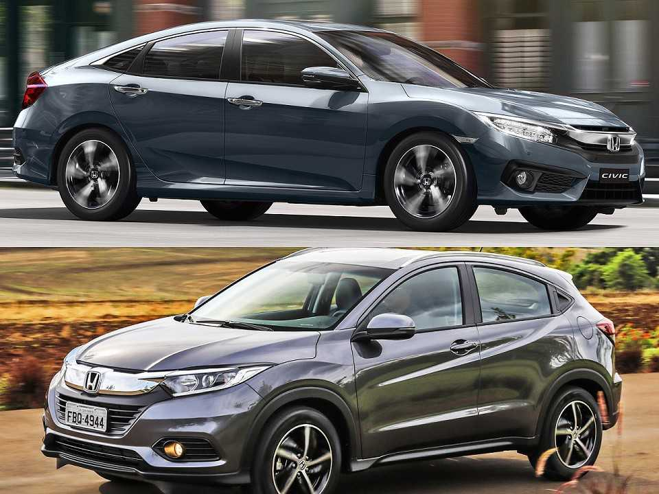 Honda Civic e Honda HR-V