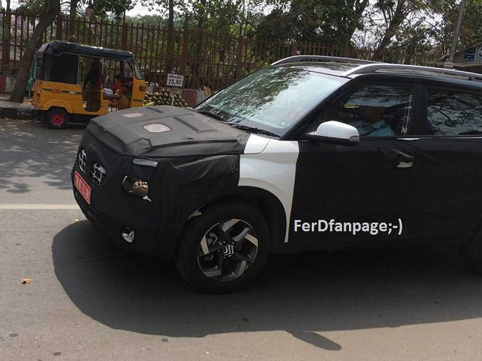 Flagra do Hyundai Styx em testes antes do lançamento