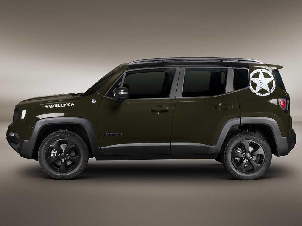 Jeep Renegade 2019 - ângulo frontal