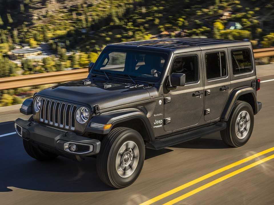 JeepWrangler 2019 - ângulo frontal