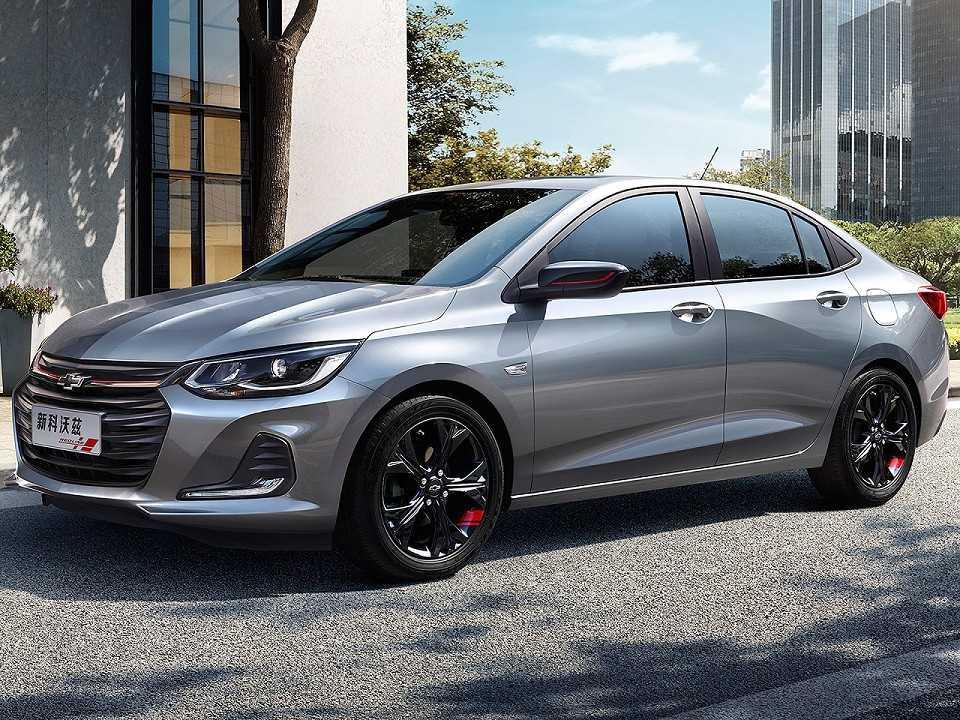 Acima o novo Chevrolet Onix revelado na China, que aqui será o sucessor do Prisma