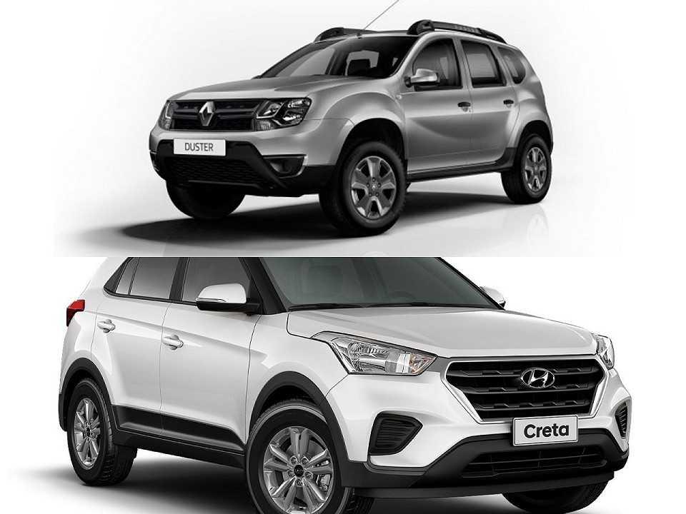 Renault Duster e Hyundai Creta