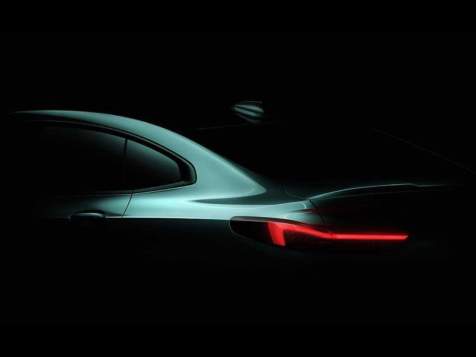 Acima o primeiro teaser do inédito BMW Série 2 Gran Coupé