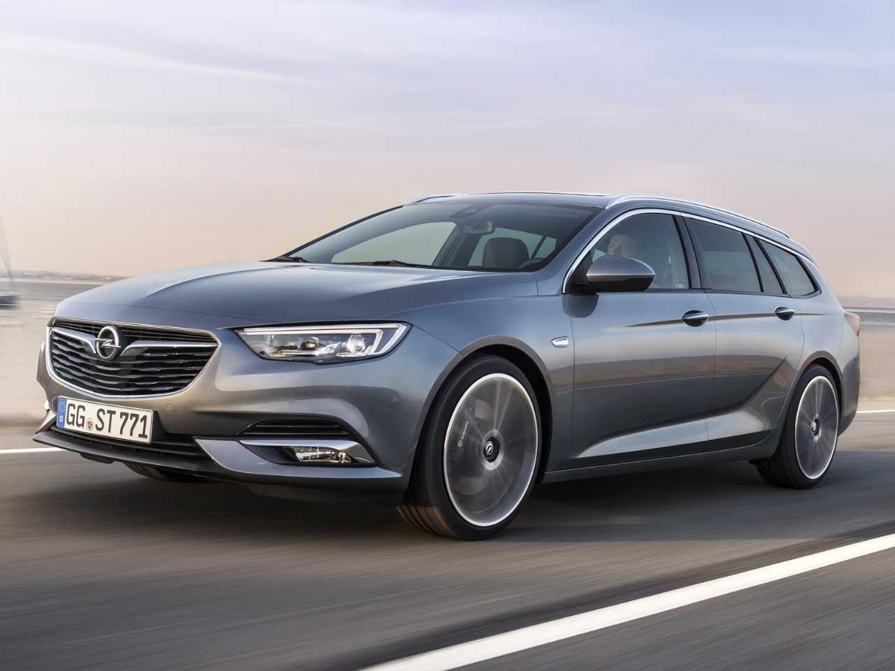 A perua Opel Insignia: sucessor do Vectra passou longe do Brasil