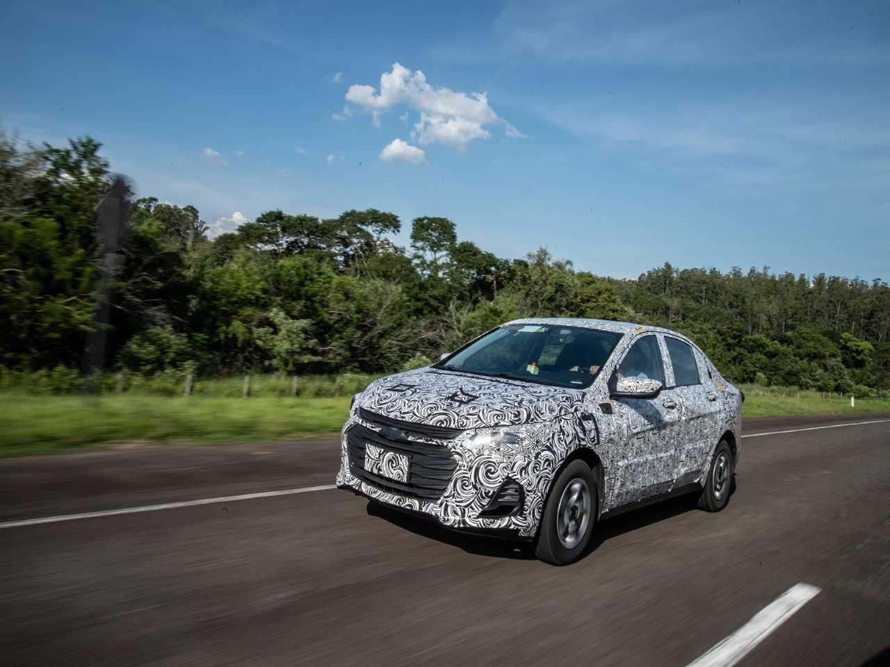 ChevroletPrisma 2020 - ângulo frontal