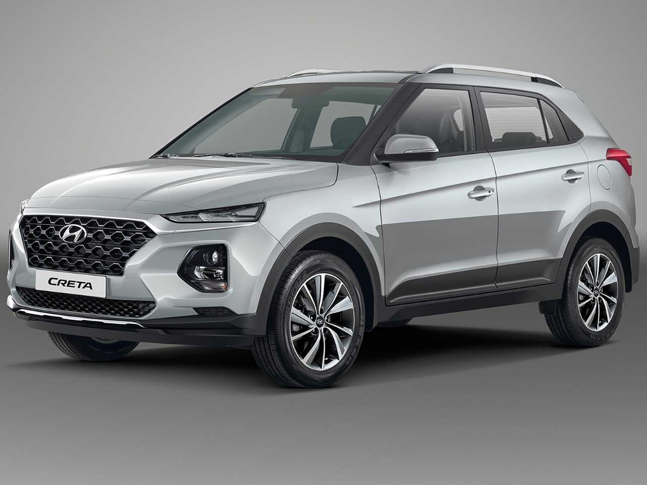 Projeção de Kleber Silva mesclando elementos dos novos Hyundai Venue e ix25 para antecipar a segunda geração do Creta
