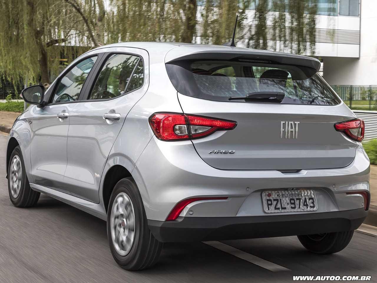 FiatArgo 2020 - ângulo traseiro