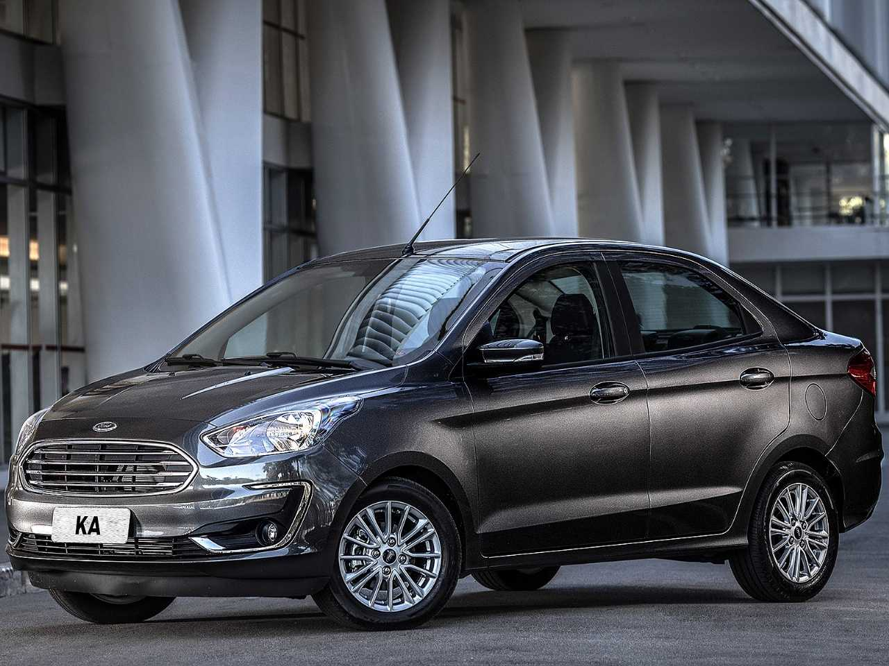 FordKa Sedan 2019 - lateral