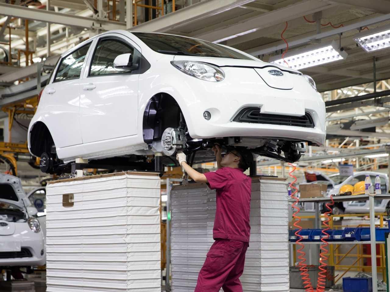 Fábrica da JAC na China: Volkswagen de olho no maior mercado do mundo