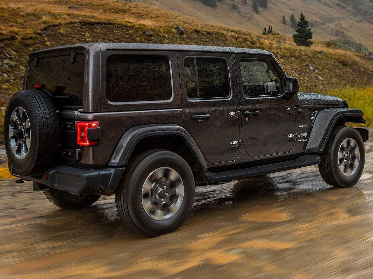 JeepWrangler 2019 - ângulo traseiro