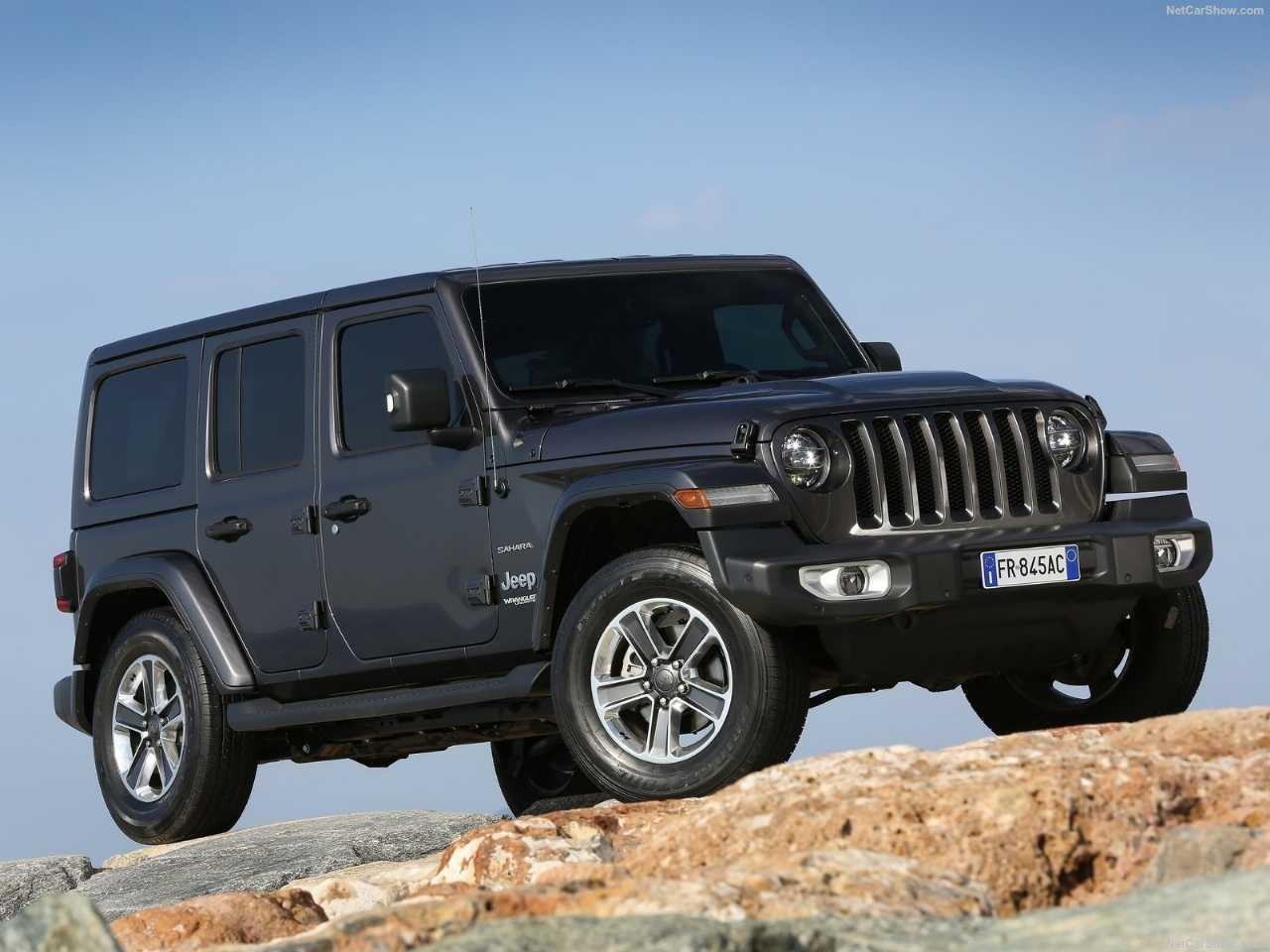 JeepWrangler 2020 - ângulo frontal