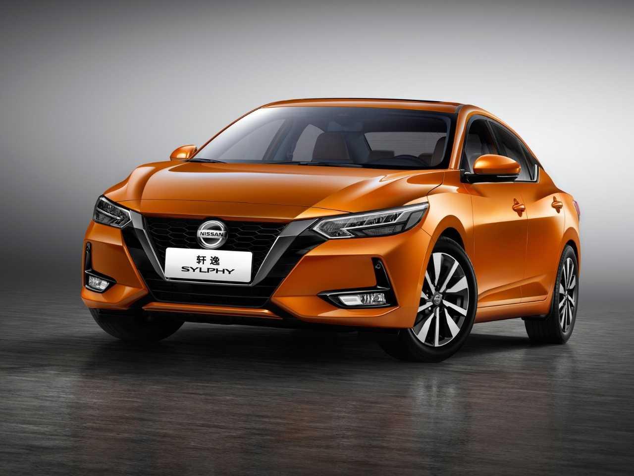 NissanSentra 2020 - ângulo frontal