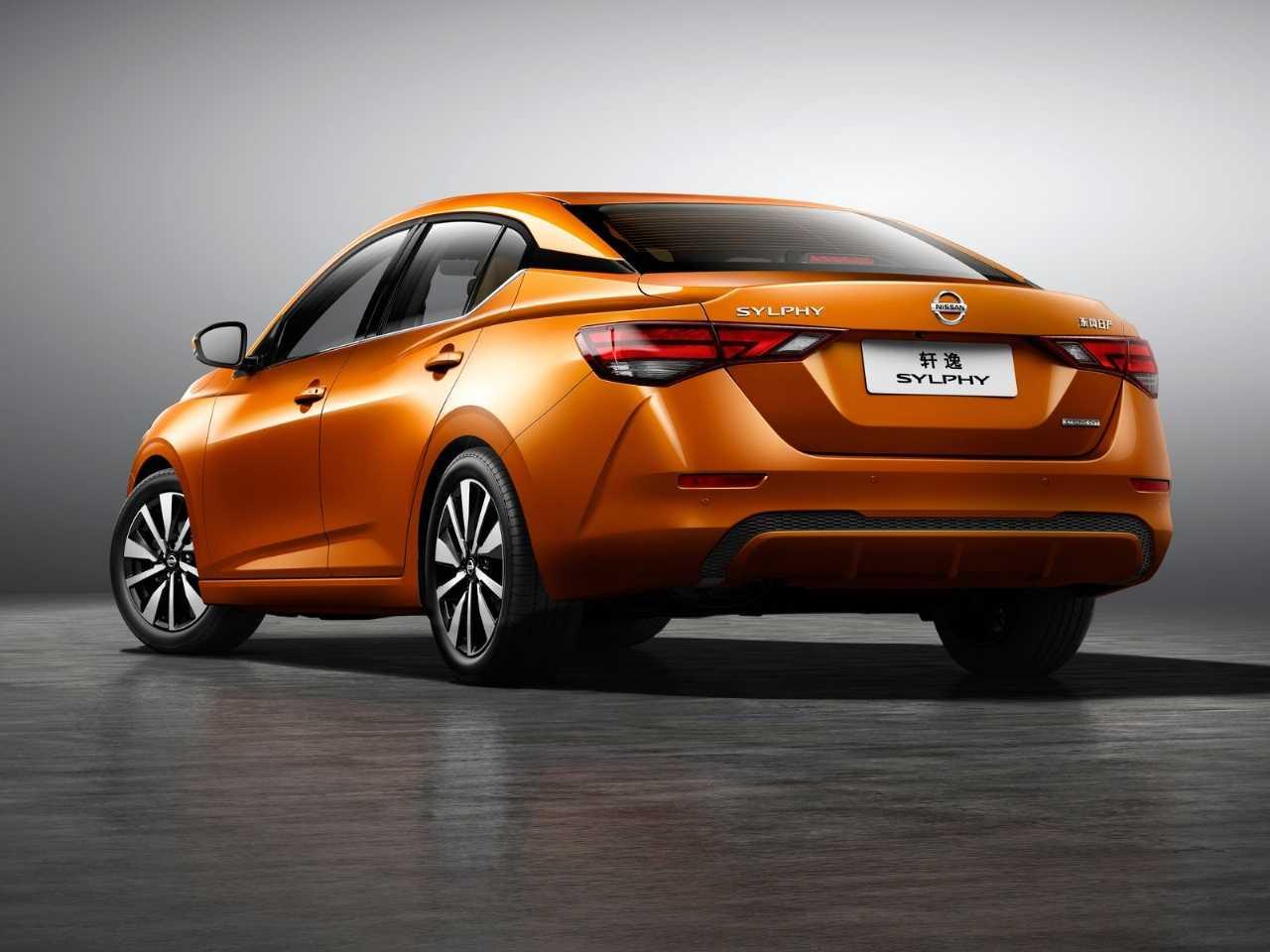 NissanSentra 2020 - ângulo traseiro