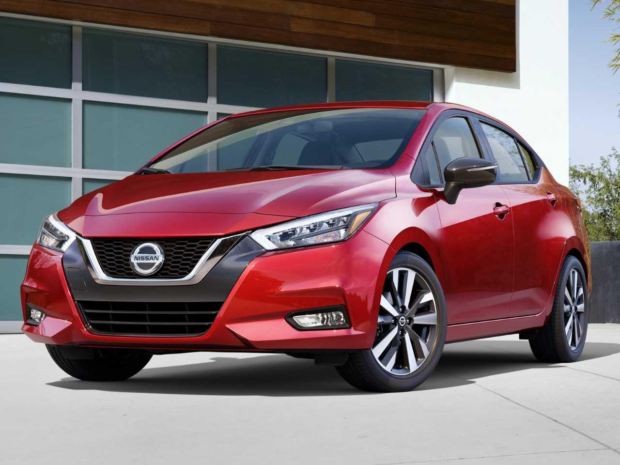 NissanVersa 2020 - ângulo frontal