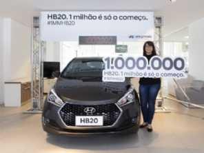 Acredite: já temos 1 milhão de HB20 rodando no Brasil