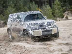 Nova geração do Land Rover Defender finaliza testes antes do lançamento