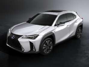 Lexus UX 250h parte de R$ 169.990