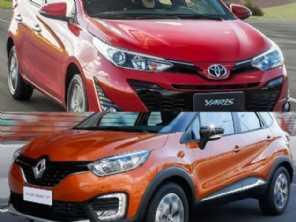 Compra PcD: Toyota Yaris XL ou Renault Captur?