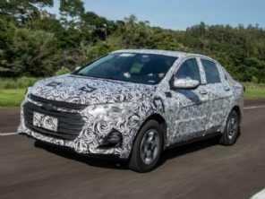 Prisma ou Onix Sedan, novo modelo da Chevrolet terá motor turbo