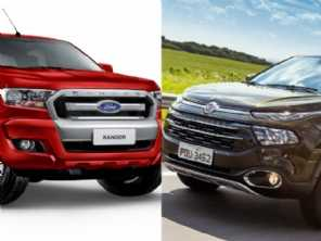 Ranger XLS 2.2 e Toro Freedom: duas boas opções de picapes diesel