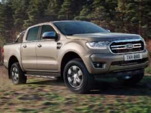 Ford Ranger vai estrear, em breve, facelift no Brasil
