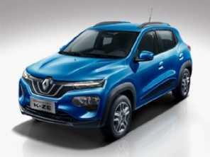 City K-ZE, o Kwid elétrico, é apresentado pela Renault