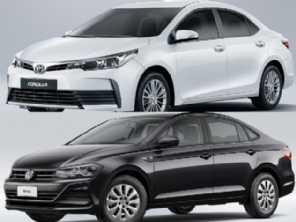 Melhor carro para táxi: Virtus 1.6 manual ou um Corolla GLi?