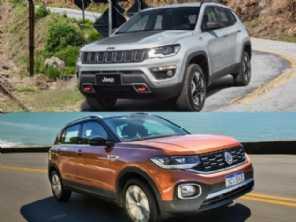 Compra com isenção de IPI: Jeep Compass ou VW T-Cross?