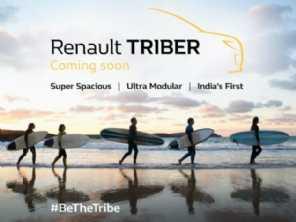 Renault Triber, primo do Kwid com 7 lugares, será lançado em julho