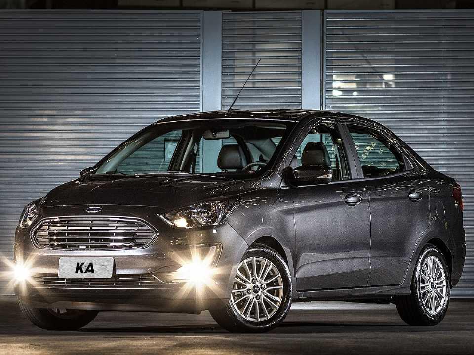 FordKa Sedan 2019 - ângulo frontal