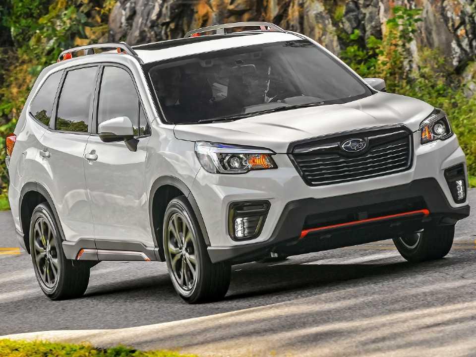 Acima o Subaru Forester Sport 2019 comercializado nos EUA