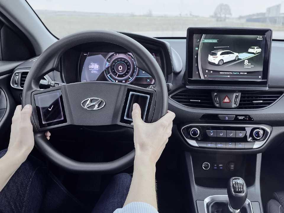 Interior dos próximos modelos da Hyundai vai apostar nos comandos digitais