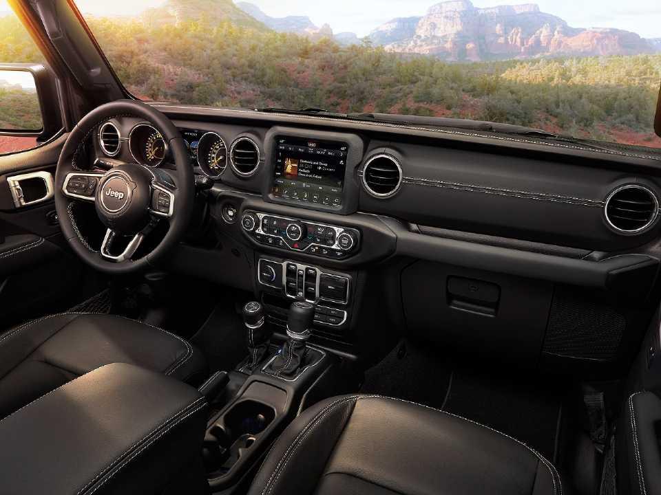 JeepWrangler 2019 - painel