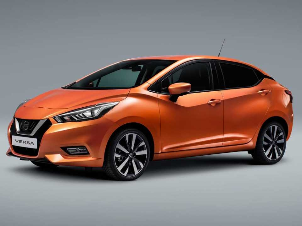 Projeção do Nissan Versa 2020: visual deve lembrar o March de 5ª geração, mas com linhas mais suaves