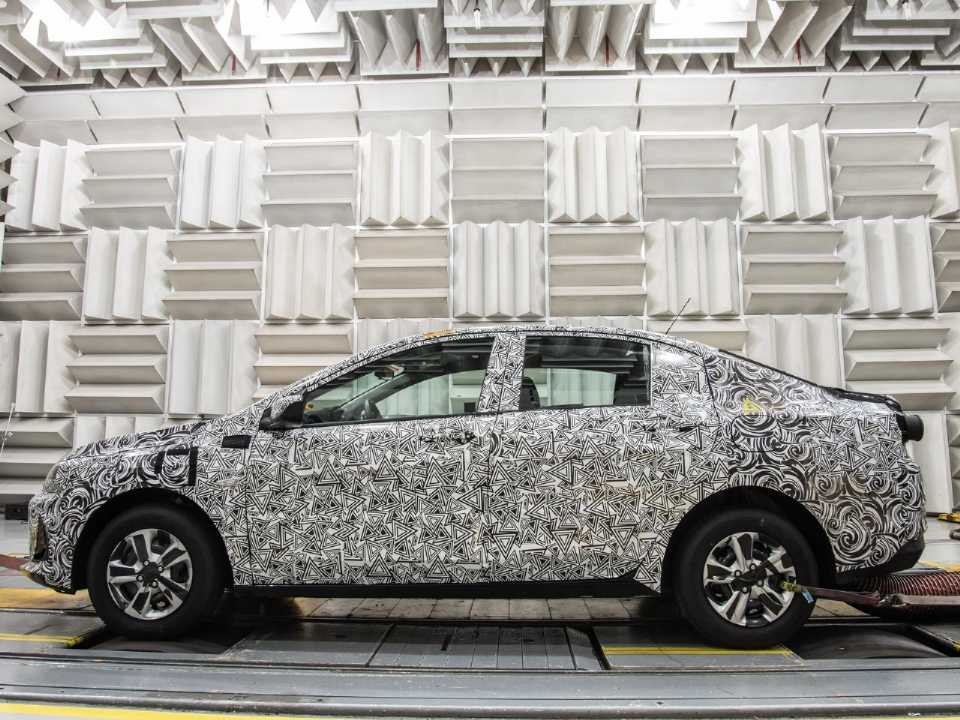 Sedan será o primeiro lançamento da Chevrolet, à frente do hatch