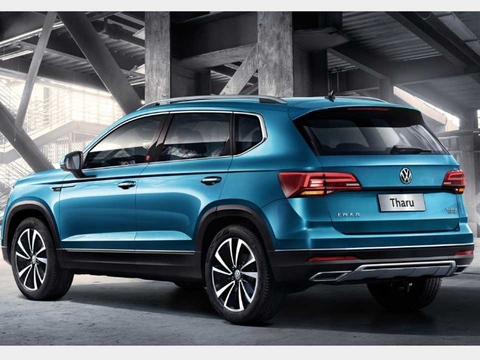 VolkswagenTaos 2020 - ângulo traseiro