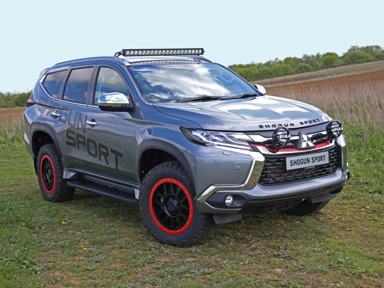 MitsubishiPajero Sport 2020 - ângulo frontal