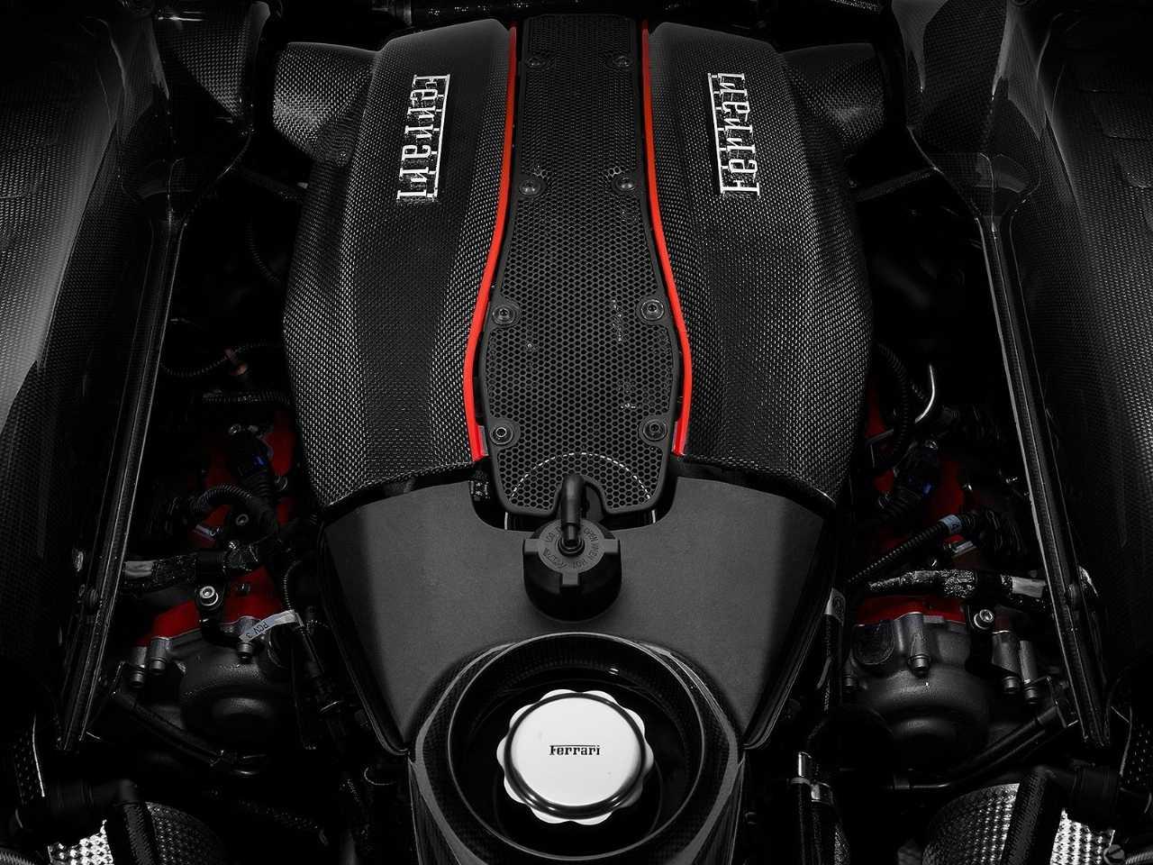 Acima o 3.9 V8 biturbo da Ferrari, eleito pela quarta vez como o melhor motor do mundo