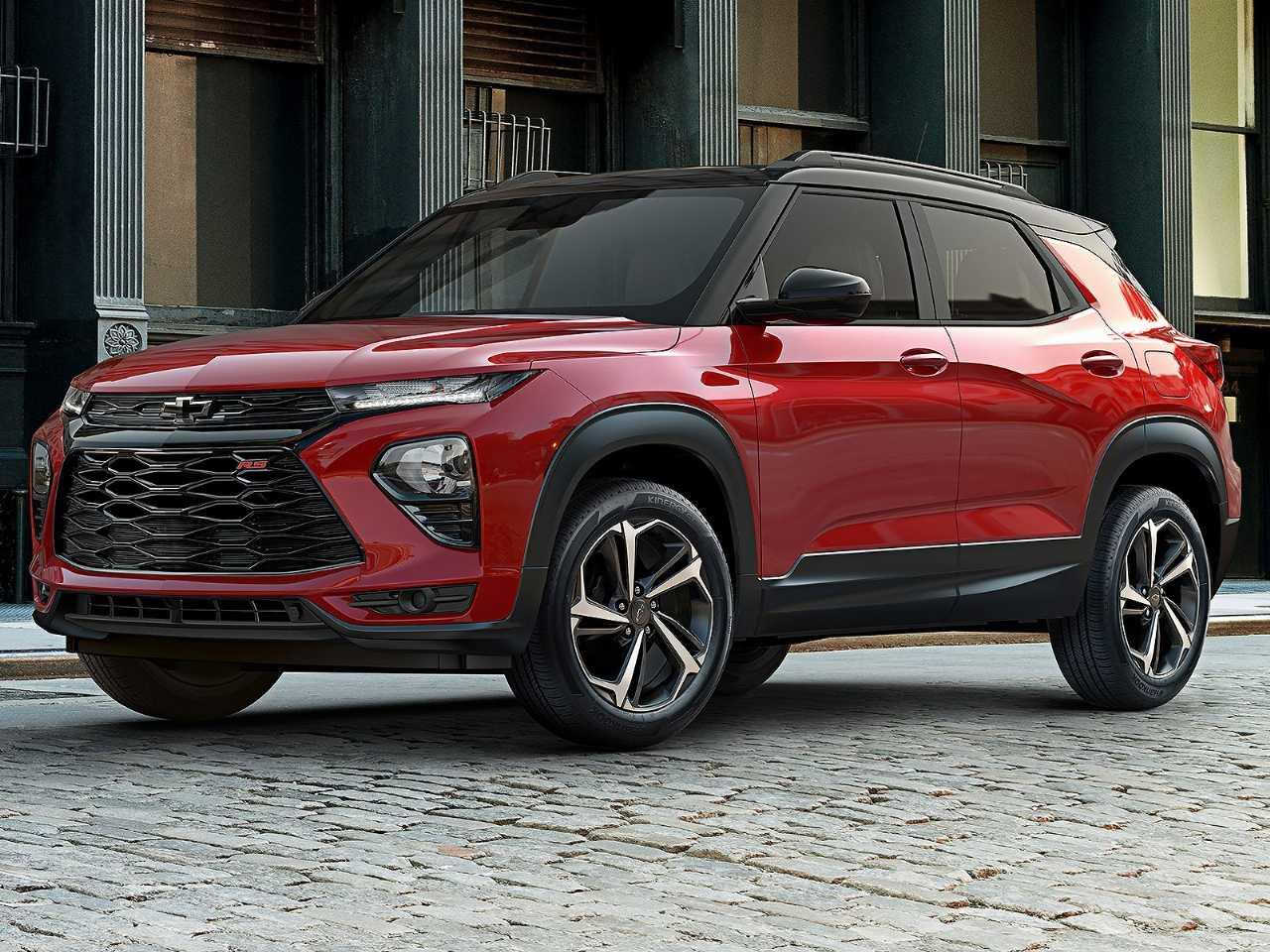 Acima o novo Chevrolet Trailblazer RS 2021 que será vendido nos EUA