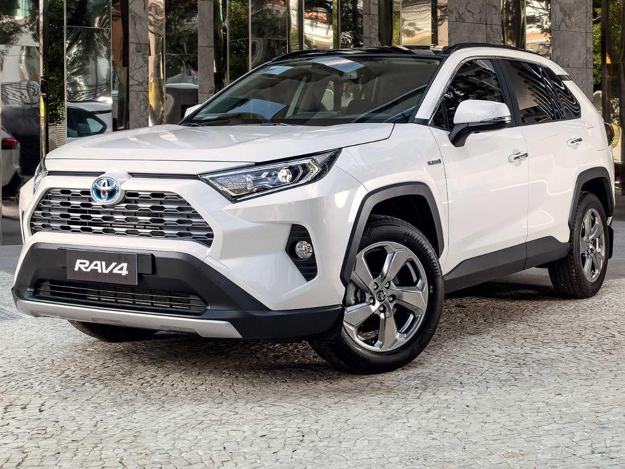 ToyotaRAV4 2019 - ângulo frontal