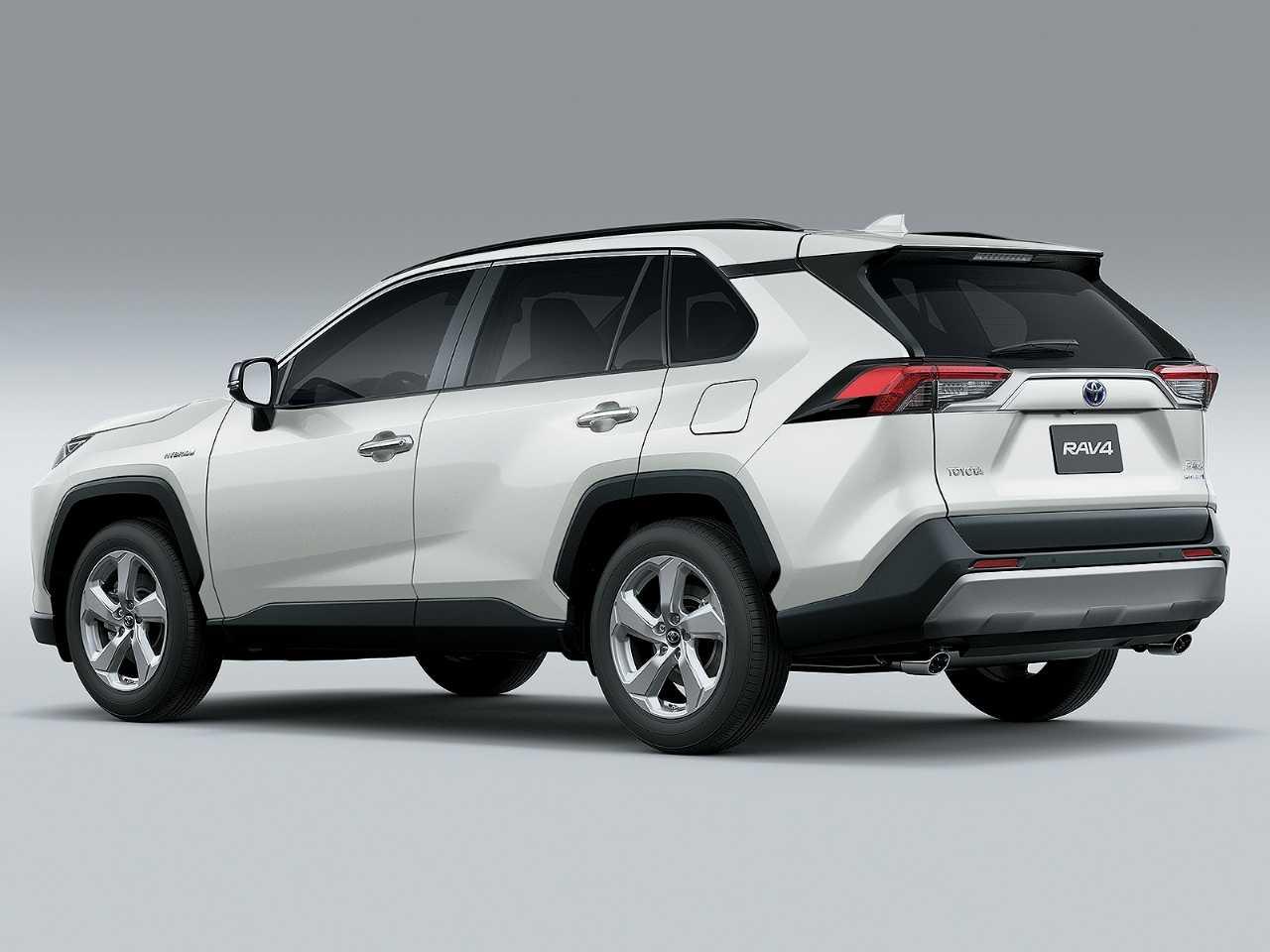 ToyotaRAV4 2019 - ângulo traseiro