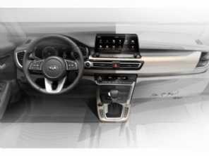 SUV compacto da Kia tem interior antecipado e será apresentado em julho
