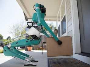 Ford cria robô que faz entrega de encomendas