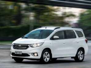 Chevrolet Spin 2020 ganha versão Premier por R$ 84.390