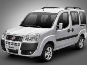 Fiat Doblò preserva apenas uma versão na linha 2020