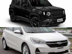 Compra PcD: Jeep Renegade ou um CAOA Chery Arrizo 5?