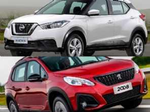 Compra com isenção: Peugeot 2008 ou Nissan Kicks?
