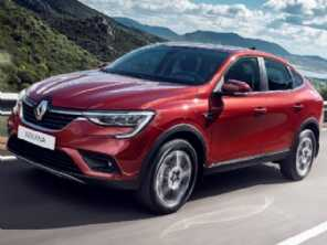 Cotado para o Brasil, Renault Arkana de produção é revelado na Rússia